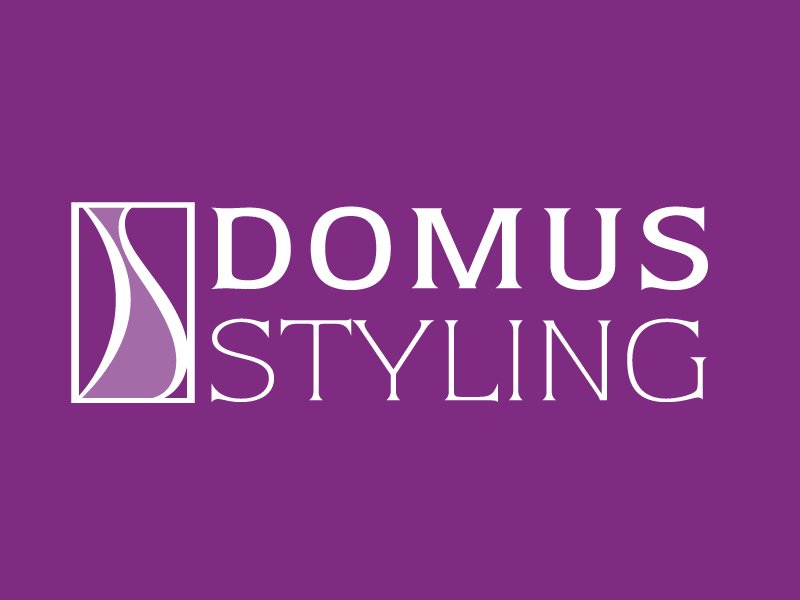 marchio Domus Styling negativo orizzontale