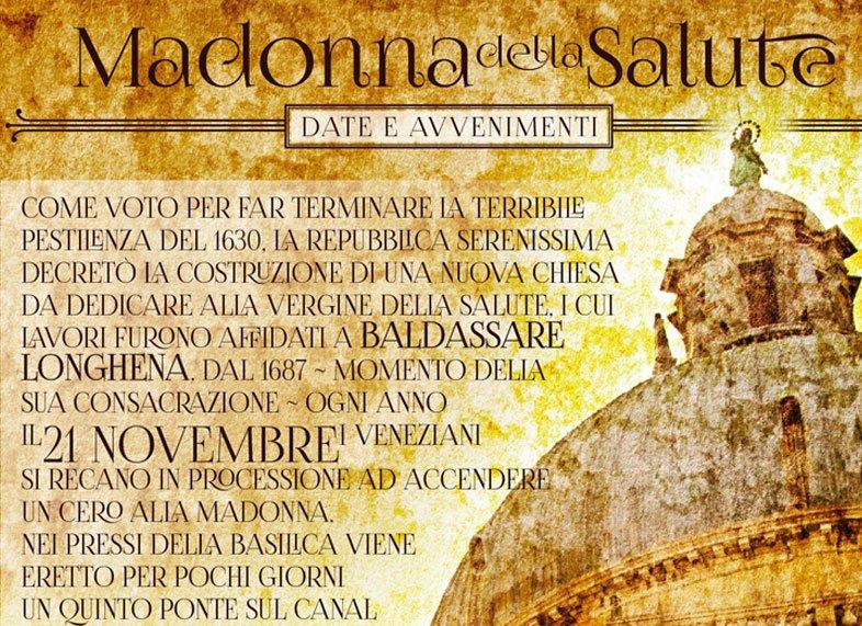 Madonna Della Salute Feast Of Madonna Della Salute Etra Comunicazione