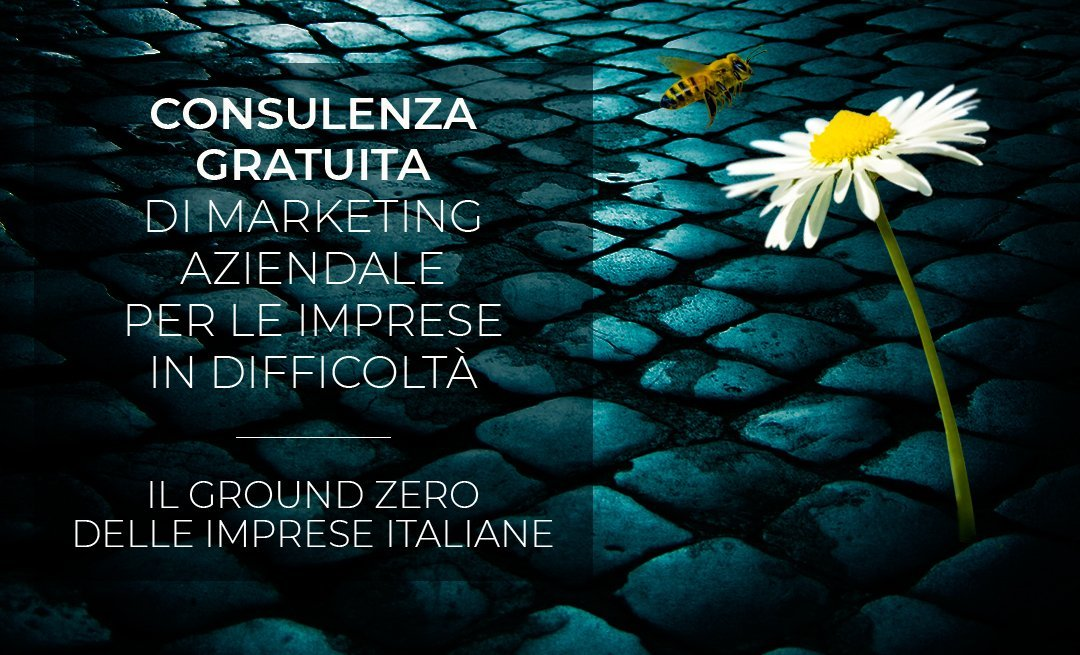 Consulenza gratuita di marketing aziendale per le imprese in difficoltà