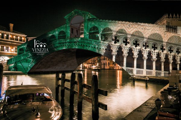 Ponte di Rialto Marchio Venezia 1600