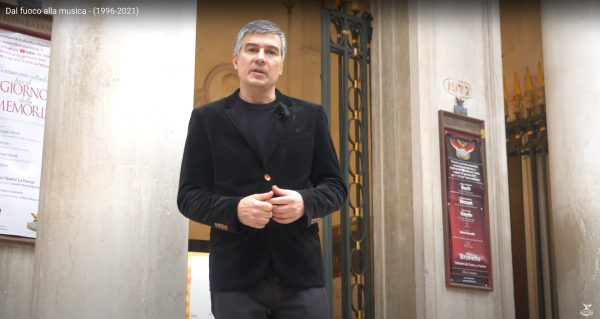 """Alberto Toso Fei conduce il documentario """"Dal Fuoco alla Musica"""""""
